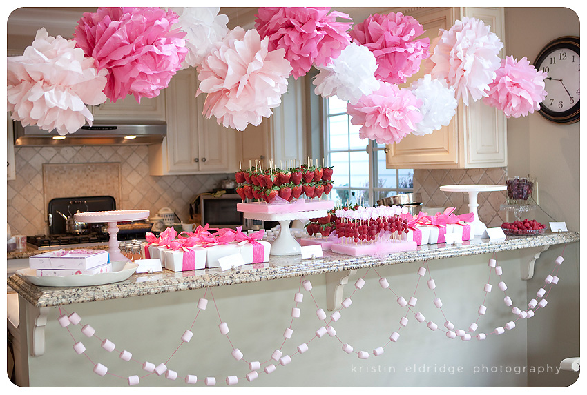 Girly Pink Baby Shower [Long Beach Photographer]