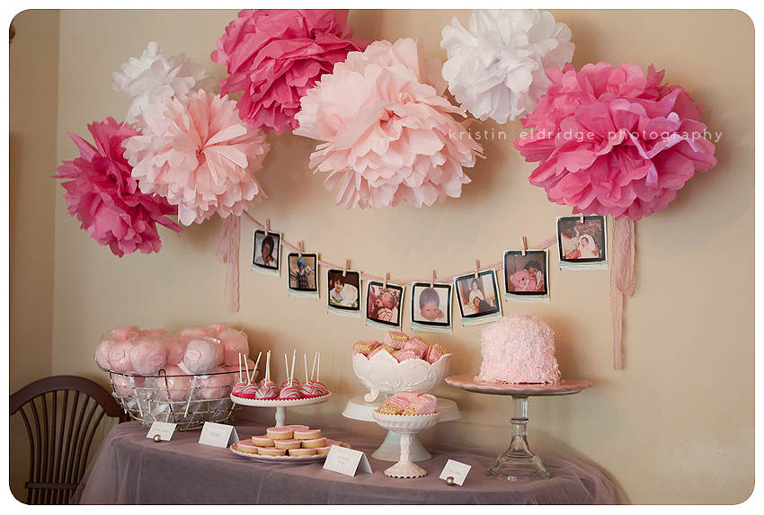 January 2012 - Decoration baby shower fille ...