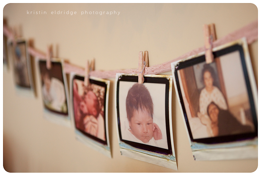 Baby Photos At Baby Shower