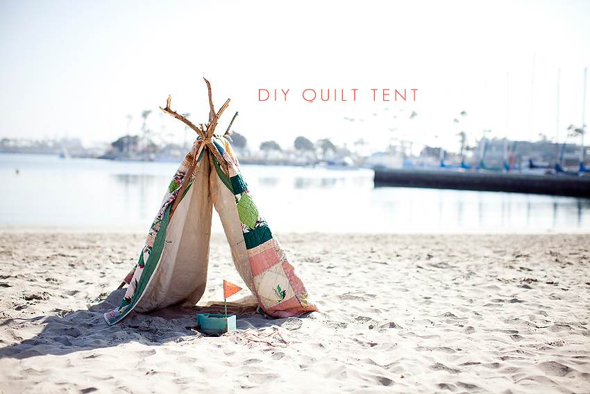 Iu0027ve ... & DIY Childu0027s Tent/Fort with a Quilt [Orange County Family Photographer]