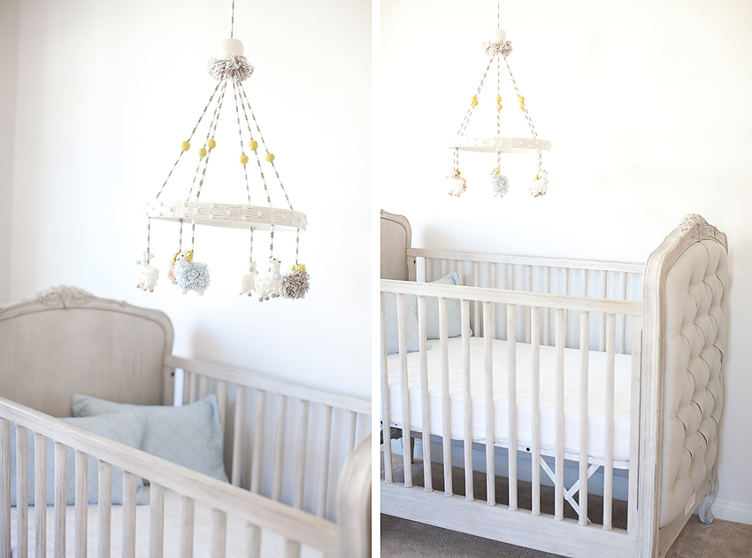 Restoration Hardware Baby Nursery [Orange County Baby Photographer]