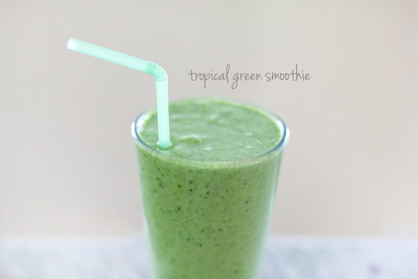 skinny green skinny tropical green smoothie smoothie green tropical ...