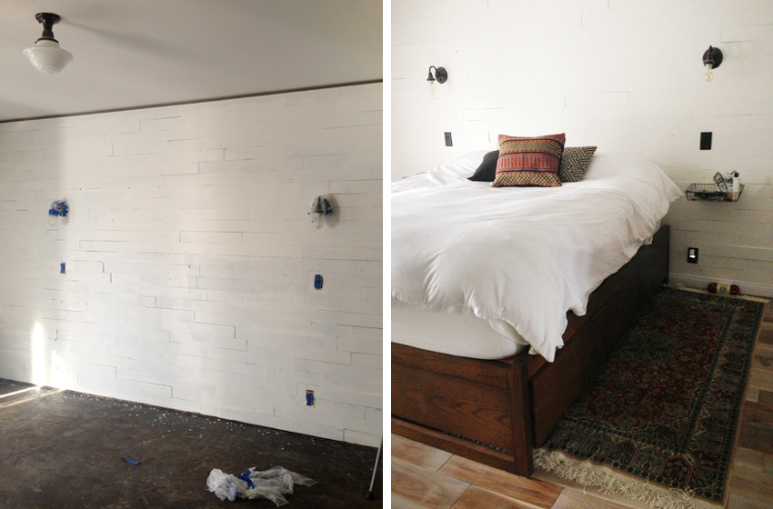 Diy white wood wall 1 sciox Image collections