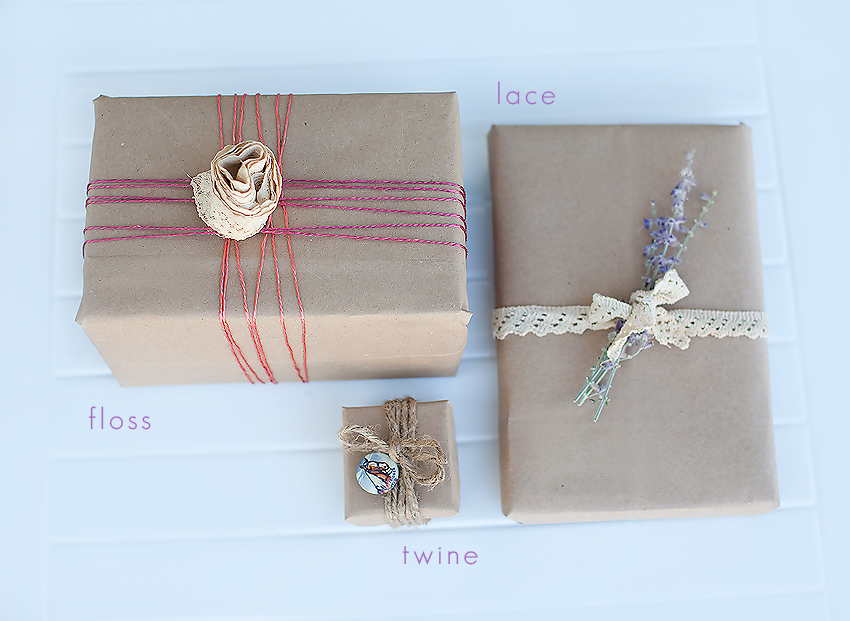 Handmade Gift Wrapping Ideas Style Findings Handmade Gift Wrapping