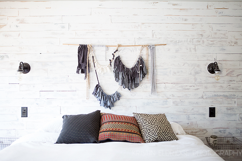 White Wood Wall 4