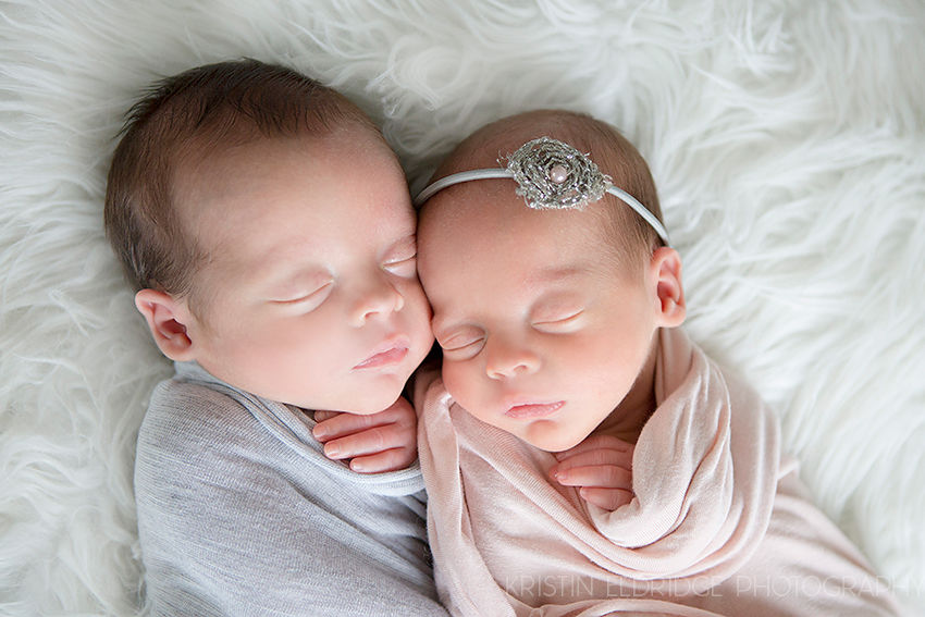 twin newborn photography