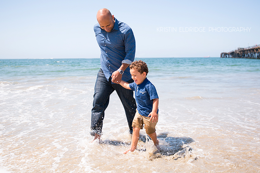 newport beach family photo session