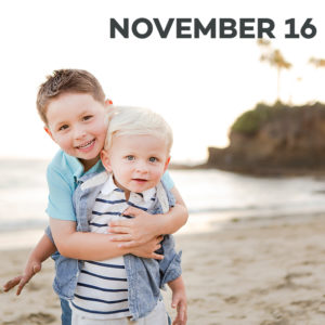 Holiday Mini-sessions at Shaw's Cove in Laguna Beach