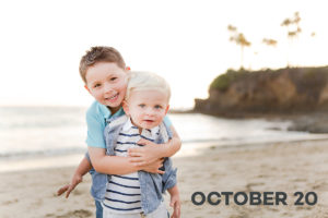 Photography in Laguna Beach for Holiday Family Photos