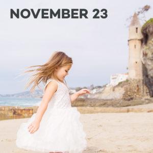 Holiday Mini-sessions at Victoria Beach in Laguna Beach
