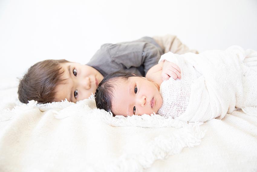 Newborn Family Photos Long Beach